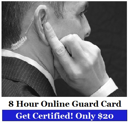 free online security guard courses with certificates