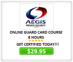 California Guard Card Courses